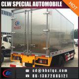 Camion del trasporto del gelato del camion della casella refrigerato 4mt di Jmc