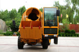 Laufwerk-preiswerter Betonmischer-LKW China-4*4 (HQ400) mit Selbstladen-System