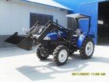 tractor 4WD con el cargador de las partes frontales
