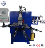 Clips hidráulicos automáticos de la carpeta del papel del metal que hacen la máquina