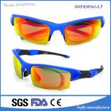 Form Sports die Gläser, die Spiegel-Objektiv-Brillen komprimieren