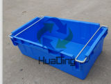720x430x240 de almacenamiento y distribución de autopartes manejado cajas de plástico encajables