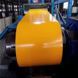 Строительный материал PPGI Prepainted катушки оцинкованной стали с полимерным покрытием