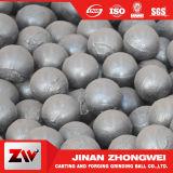 Bolas de pulido de lanzamiento  para el cemento de la explotación minera y la central eléctrica
