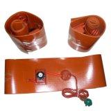 Calentador eléctrico del caucho de silicón de la alta calidad de las ventas directas de la fábrica con el termocople