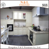 Alti mobilia della cucina del PVC di lucentezza 2017 ed armadio da cucina