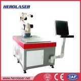 Soldadora de laser de la fuente de la fibra de la tecnología de Alemania y de Rusia para la célula de 18650 potencias