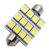 lampadina interna dell'automobile della lampadina LED dell'automobile della lampada della targa di immatricolazione dell'automobile di 42mm