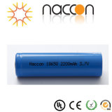 La potenza della batteria del litio fornisce 18650 2200mAh ricaricabili per la Banca di potere