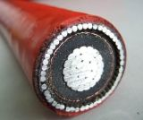 Câble d'alimentation isolé par XLPE en aluminium de jupe de PVC de la SWA de faisceau
