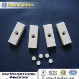 Resistência ao impacto do tubo cerâmico de Alumina lado a lado como revestimentos resistentes ao desgaste