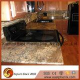 Естественные черные Polished Countertops кухни гранита камня гранита