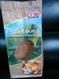 Sac de papier d'emballage de fond plat pour l'empaquetage de légumes