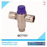 Латунный термостатический смешивая клапан