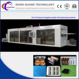 Máquina de termoformagem de plástico multi-estação totalmente automática (formação / corte / perfuração / empilhamento)