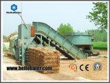 Automatische Hydraulische het In balen verpakken van het Stro van de Pers Machine voor de Elektrische centrale van de Biomassa