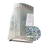 Panel de ducha de cristal de vidrio templado de la curva de 12mm