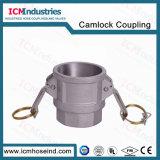 Accoppiamento femminile di alluminio del Camlock dell'accoppiatore della parte D con il filetto del NPT