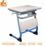 Mesa de estudio de los niños solo ajustable de mobiliario escolar