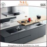 Gabinetes de cozinha UV N & L Modular High Gloss com certificação SGS