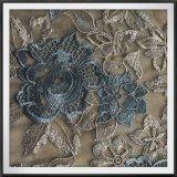 花の刺繍のレースのナイロンテュルの刺繍のレースの網の刺繍のレース