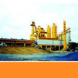 L'impastatrice concreta bituminosa, asfalta l'impianto di miscelazione concreto