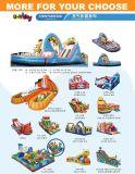 Zirkus-und Park aufblasbarer Spielplatz mit Karikaturserie