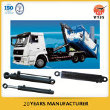 Cilindro hidráulico para o veículo do saneamento/caminhão de lixo/vassoura de estrada