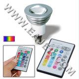 JDR/E14 ampoule à télécommande de projecteur de la puissance élevée LED