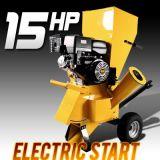 전기 시작을%s 가진 새로운 15HP Chipper 슈레더