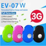 3G/WCDMA rastreador GPS portátil impermeable con alarma Sos& caída EV07W