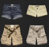 Pantalones ocasionales del estilo A.F, cortocircuitos, pantalones