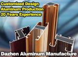 Лидеров продаж Customzied алюминиевый профиль для производства строительных материалов / Заводской прямой продажи цену