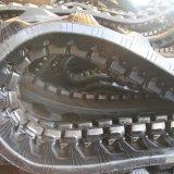 Trilha de borracha da maquinaria de construção (K450*83.5*74) para a máquina de Komatsu&Yanmar