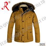 Fur (QF-120)の熱いFashion Hoody Down Jacket