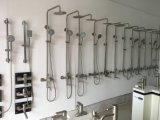 Hoogste Kwaliteit 304 Douche van de Regenval van de Hand van de Badkamers van de Douche van de Tapkraan van het Bad van het Roestvrij staal de Vastgestelde