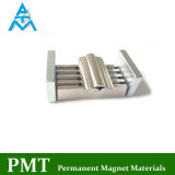 N38h R18XR25X45mm de lado a lado com magneto de terra rara NdFeB material magnético