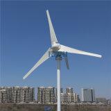 가로등 정원 점화 홈 사용 효율성을%s MPPT 책임 관제사 3 5 잎을%s 가진 200W 바람 발전기 48V AC