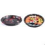 Haut imprimé floral Grade Sushi conteneur en plastique jetables