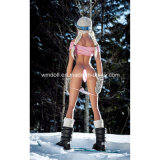 Bambola del sesso della tazza delle bambole 157cm B di Wm nella neve