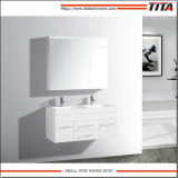 Banho de MDF Branco Brilhante vaidade TM8254A