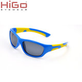 K023 Zonnebril van de Jonge geitjes van de Peuter van de Beschermende brillen van het Frame van de Zonnebril van de Meisjes van de Jongens van de Baby van Oogglazen de Plastic