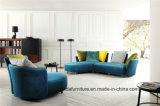 Высокое качество современных диван в итальянском стиле диван ткани бежевого цвета