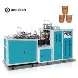 Vaso de papel automática haciendo maquinaria para la taza de café espresso