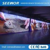 Fácil instalação P5.95mm tela LED de exterior