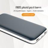 10000mAh Banco de potencia con la luz del flash Cost-Efficient cargador portátil