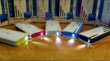 Rizado móvil diseño colorido 10000mAh Banco de potencia con 3 USB PC