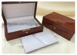 Contenitore di monili di legno lucido di qualità superiore/contenitore di regalo/casella di memoria/casella di legno