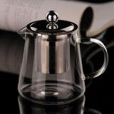 Удалите цветной 650nl высокой Боросиликатного Infuser Teapot с