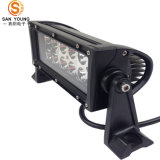 barra chiara 72W di 6D LED barra chiara fuori strada di riga LED di 12 pollici doppia